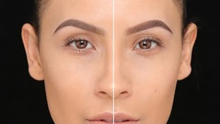 HIGH-END VS AFFORDABLE EYEBROW TUTORIAL