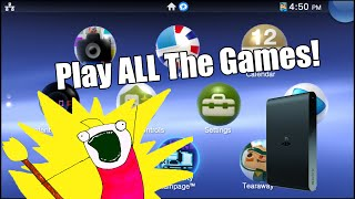 How to Play EVERY Vita Game on the PlayStation TV | PSTV Whitelist Tutorial (3.52 or Lower)