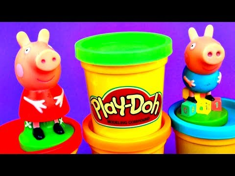 Peppa Pig Surprise Eggs Play-Doh Disney Cars Donkey Kong Barbie Spongebob Disney ToyStory AngryBirds