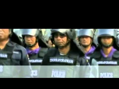 3 Dead After Thai Police Clash With Anti   Government Protesters In Bangkok   18 Feb 2014 MUST SEE