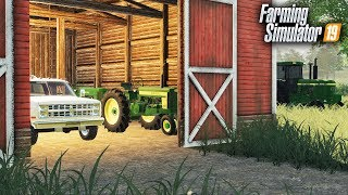 FS19- BARN FINDS! BUYING AN OLD FARM FULL OF ANTIQUE TRACTORS