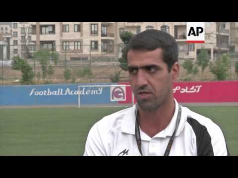 Football fever grips Tehran as Iran prepares for World Cup