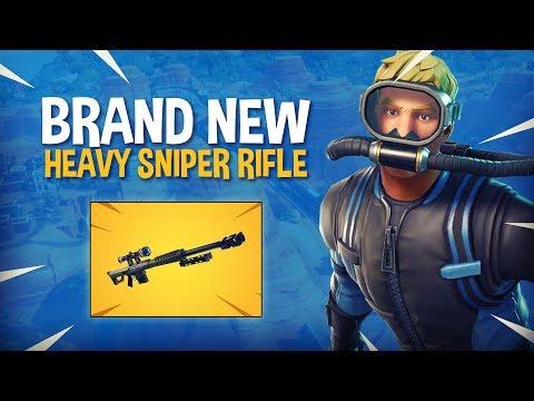 *NEW* Heavy Sniper Rifle! - Fortnite Battle Royale Gameplay - Ninja