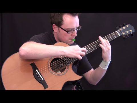 Hide and Seek (Imogen Heap) Solo Guitar by Antoine Dufour