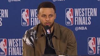 Stephen Curry Postgame Interview - Game 3 | Warriors vs Blazers | 2019 NBA Playoffs