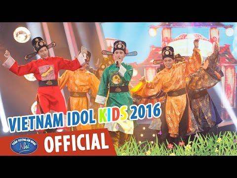 VIETNAM IDOL KIDS 2016 - GALA 5 - BỐNG BỐNG BANG BANG - TOP 6 & NHÓM 365