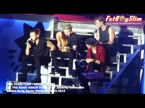 1d One Direction - Little Thing Live In Jakarta, Indonesia 2015 video