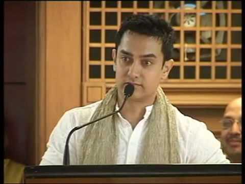 Aamir Khan-True meaning of education......