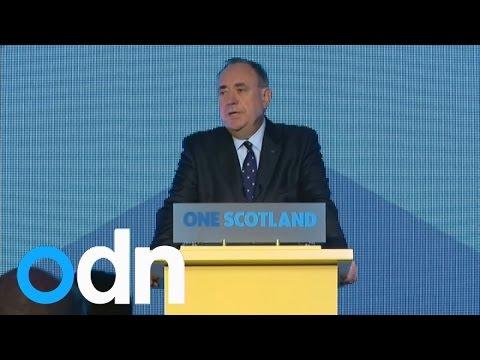 Scottish referendum: Alex Salmond accepts defeat in speech
