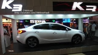 Kia K3 (2014 Kia Forte/Cerato) finally unveiled - exterior only