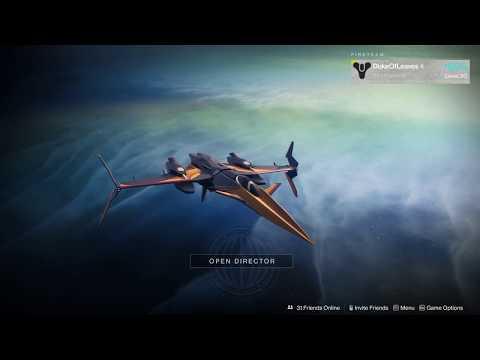 Destiny 2 - 1 hour of Forsaken orbit music thumbnail