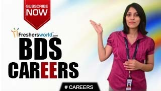 CAREERS IN BDS – MDS,P.Hd,Consultant,Medical Institutions,Research Centre's,Hospitals