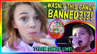 WAS THIS CANDY BANNED? | TYLER SINGS LIVE | We Are The Davises