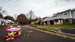 OVER 200 HOMES EVACUATED - Exploring ABANDONED Neighborhood APOCALYPSE GHOST TOWN