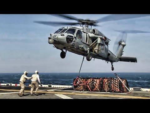U.S. Navy Underway Replenishment • CONREP & VERTREP