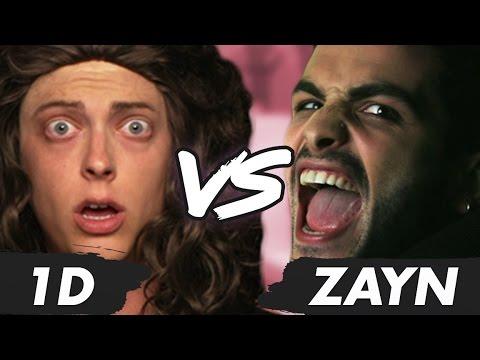 ONE DIRECTION vs ZAYN MALIK Music Video Parody (Diss Track)
