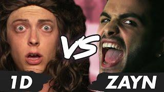 Zayn vs One Direction Music Video Parody (Diss Track)