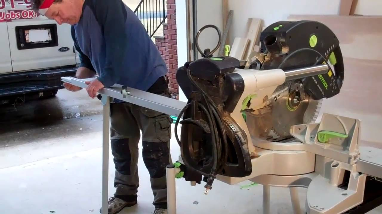 Festool Ug Kapex Stand Review By Kreg Mcmahon Youtube