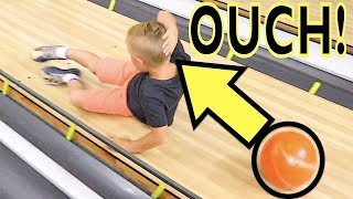 🎳BIRTHDAY BOWLING DISASTER 😱