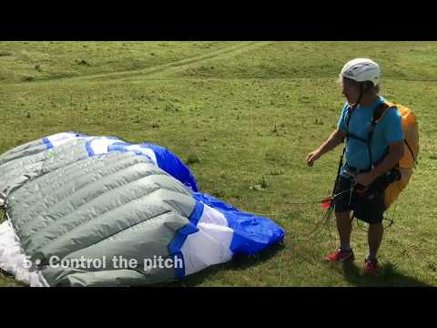 Paraglider Ground Handling - 7 INSTANT FAILS