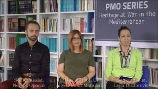 "PMO Series: ""Heritage at War in the Mediterranean"""