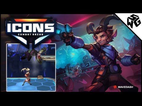 Brawlhalla Like Game! - Icons: Combat Arena - Kidd and Raymer Gameplay