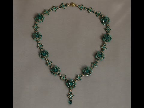 Sidonia's handmade jewelry - Sweet Romance beaded necklace tutorial