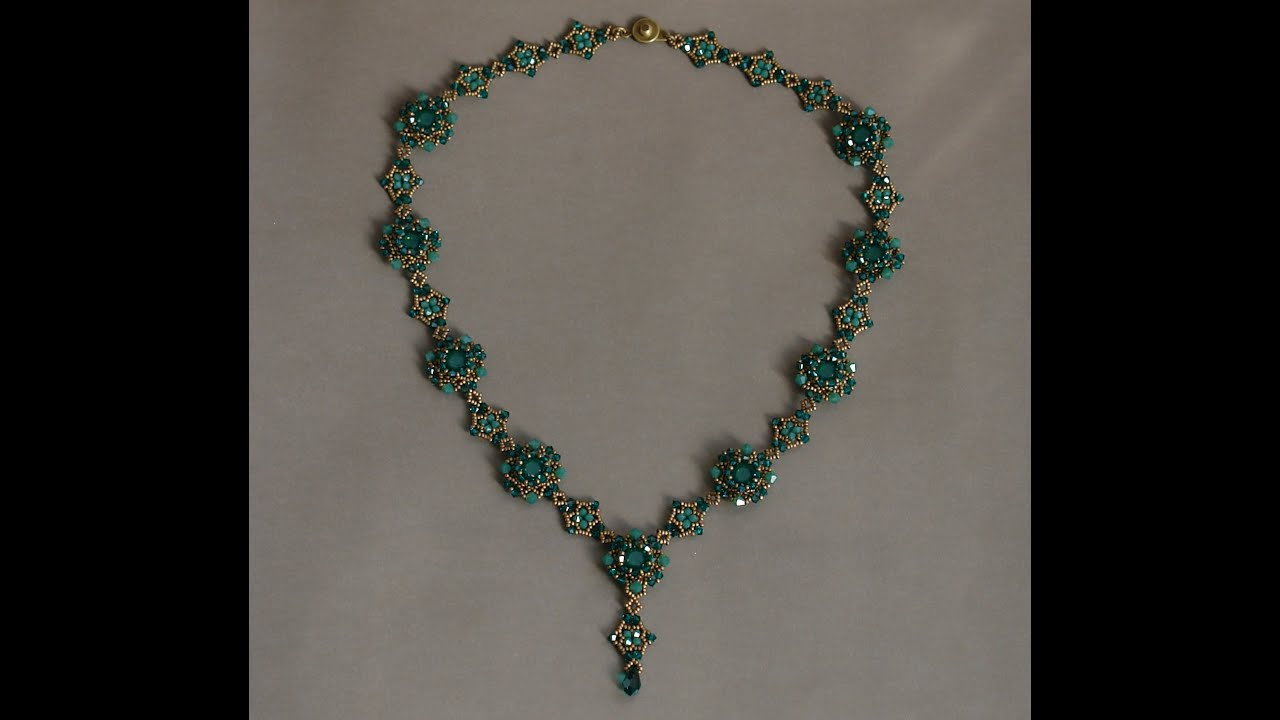 Necklace Beads: Sweet Romance Beaded Necklace