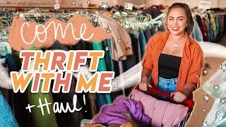 THRIFTING FOR FALL + WINTER TRENDS // thrift haul ♡