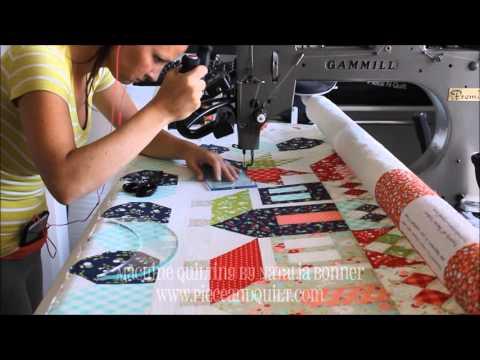 Machine Quilting - In the Studio With Natalia Bonner