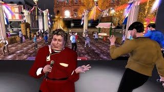 William Shatner Tribute Concert in London City (London in Second Life)
