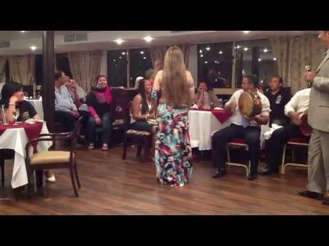 Sexy Egyptian Girl Entertain Guests By Belly Dancing video