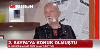 SÜMER TILMAÇ 34 SAAT ÖNCE KANALTÜRK'TEYDİ