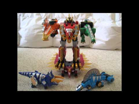 Power Rangers Dino Thunder (stop motion)