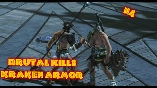 God of War:Ascension Kraken armor Brutal Kills