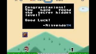 Super Mario World Hidden Island Level??