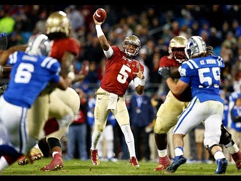 Jameis Winston,Quarterback Florida State, Highlights from his freshman Year. The Song is Hometown Hero By B.I.G Brit.