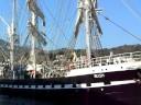 Départ du Belem à Port-Vendres