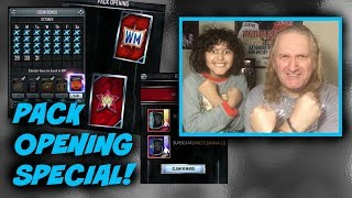 Pack Opening Special  Wwe Supercard S3 Ep127