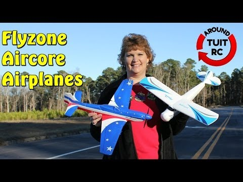Flyzone Aircore Principle and P-51 Miss America Review and Flight