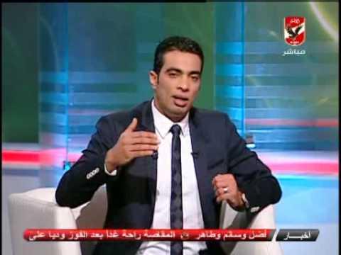لحظه اعلان الفائزين بمسابقه العمره ببرنامج الكره والجماهير