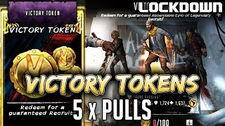 TWD RTS: 5 Victory Token Pulls & 2 RTS Token Pulls - The Walking Dead: Road to Survival