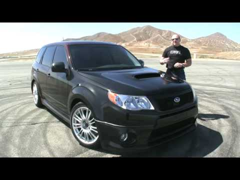 Driving Sports TV - Subaru Forester XTI Driven!