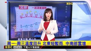氣象時間 1070113 晚間氣象 東森新聞