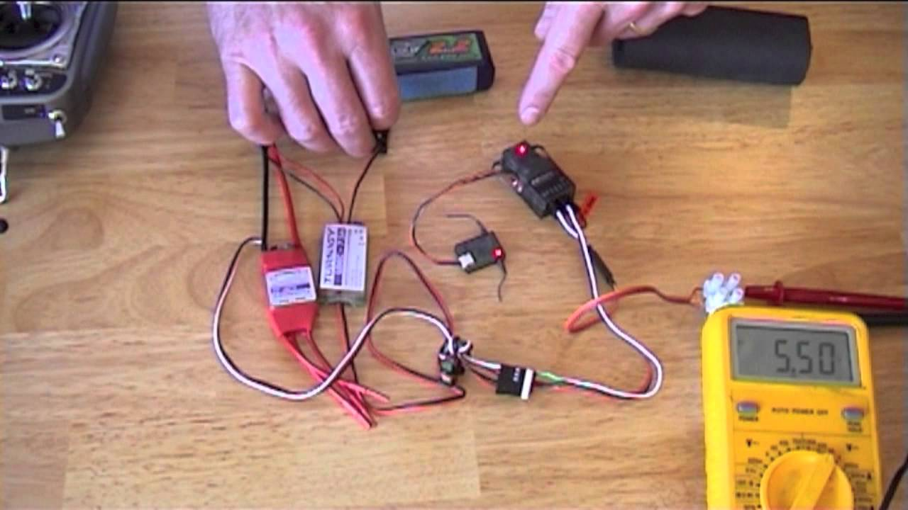 Simple Bus-tie Circuit For Rc Planes