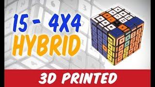 The 15-4x4 Puzzle (Hybrid)