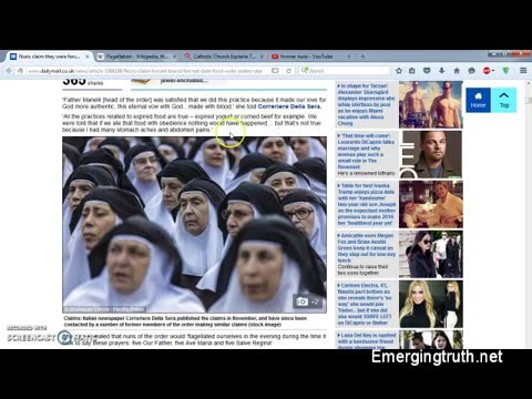 Roman Catholic Nuns Forced To Do Awful Things in Secret