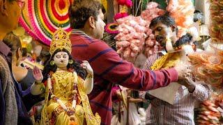 Download Saraswati Puja   Vasant Panchami Workflow - Kumortuli 2017 3Gp Mp4