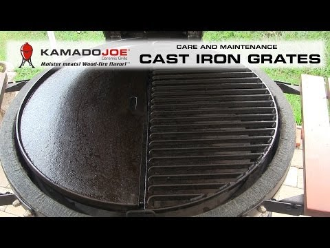 Kamado Joe Cast Iron Care & Maintenance