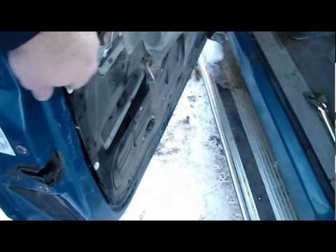 Replacing 1998 Chevy Silverado Exterior Door Handle